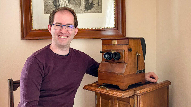 Pascal Martiné about Stereosite and Stereo Photography